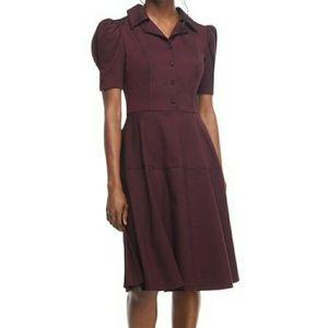 NWT Gal Meet Glam Nina Twill Fit and flare dress.